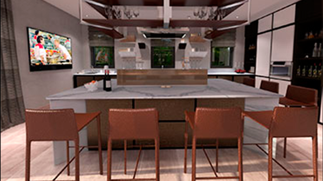 Cocina Interior for Homes